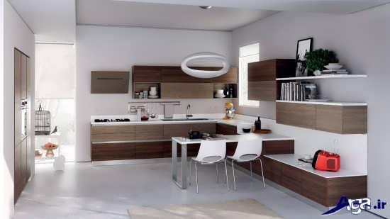 طراحی جدید کابینت آشپزخانه