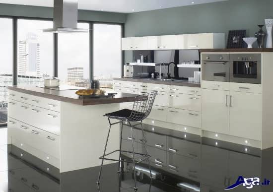 دیزاین کابینت مدرن آشپزخانه