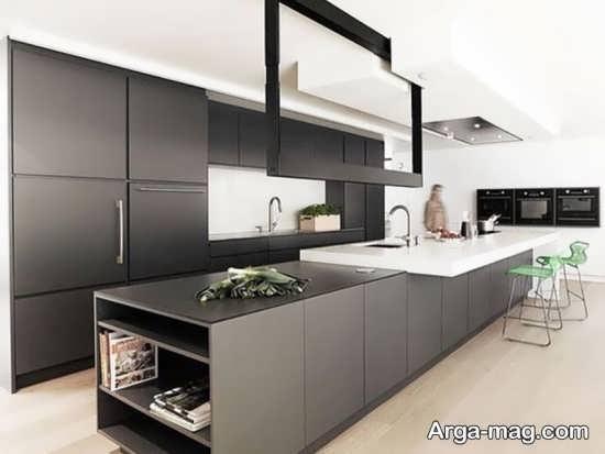 دیزاین آشپزخانه شیک
