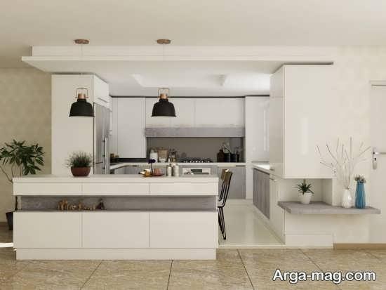 دیزاین آشپزخانه مدرن