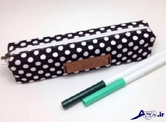 روش ساخت کیف های ساده آموزش ساخت جامدادی چرم دست دوز و مدل های متفاوت آن