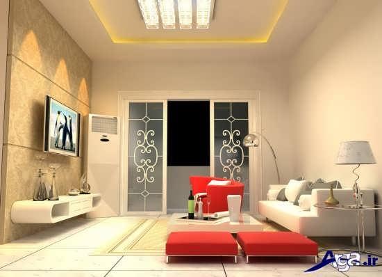 دیزاین جدید و زیبای اتاق پذیرایی