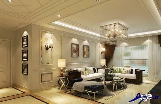 دیزاین داخلی اتاق پذیرایی