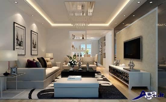 دکورایون اتاق پذیرایی زیبا