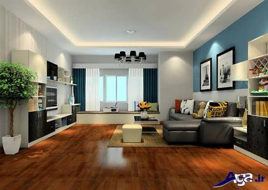 طراحی اتاق پذیرایی مدرن