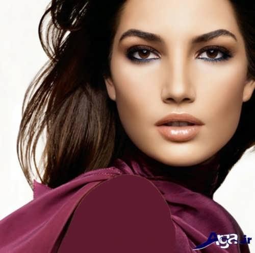 مدل زیبا و جدید آرایش زنانه