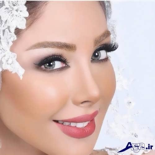 مدل زیبا آرایش لایت برای عروس