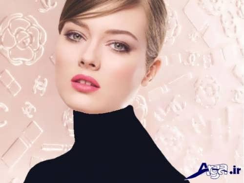 مدل آرایش ساده و لایت