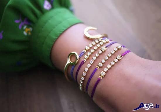 مدل دستبند دخترانه ساده