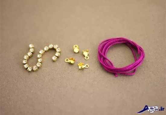 وسایل مورد نیـاز به منظور ساخت دستبند ساخت دستبند با روش های ساده و   فوق العاده شیک mimplus.ir