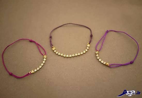 مدل دستبند دخترانه دست ساز