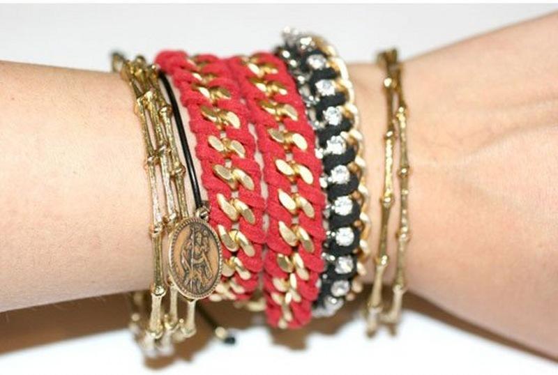 وسایل مورد نیاز برای ساخت دستبند ساخت دستبند با روش های ساده و  فوق العاده شیک