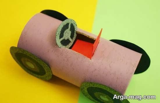 مدلهای کاردستی با جعبه دستمال کاغذی