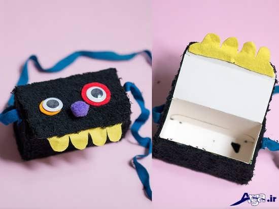 کاردستی خلاقانه با جعبه دستمال کاغذی