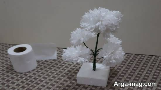 ساخت کاردستی فانتزی با جعبه دستمال کاغذی