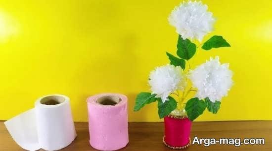 ساخت کاردستی کودکانه با جعبه دستمال کاغذی