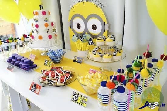 مدل کیک تولد مینیون ها