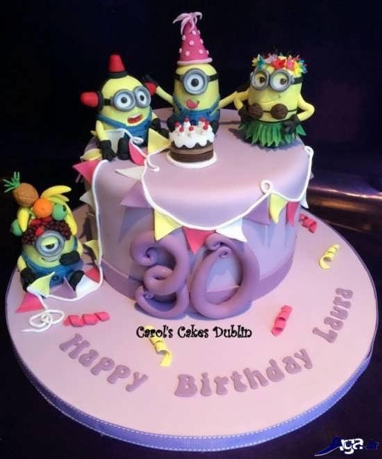 کیک تولد جدید و زیبا