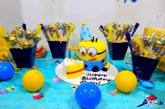 تم جشن تولد مینیون