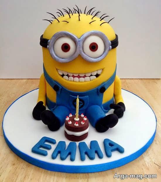 تم تولد مینیون با کیک بسیار شیک