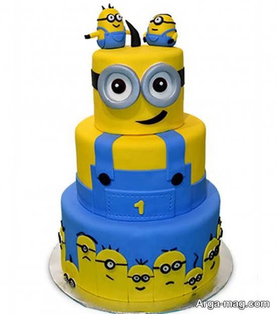 تم تولد مینیون با کیک مینیونی