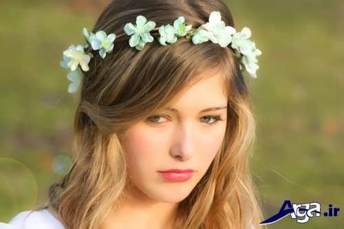مدل زیبا گل سر