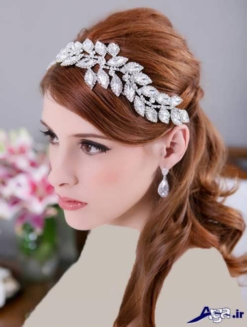 گل سر عروس زیبا