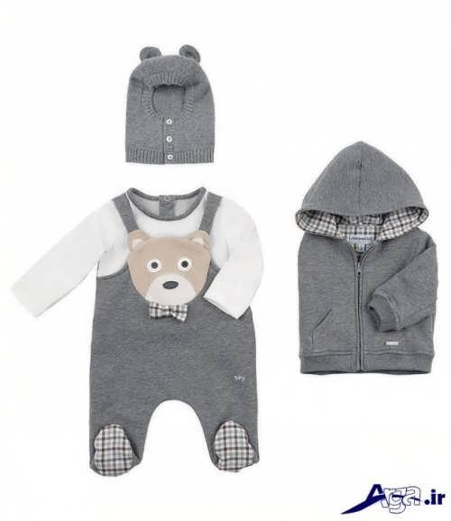 لباس نوزادی چند تکه