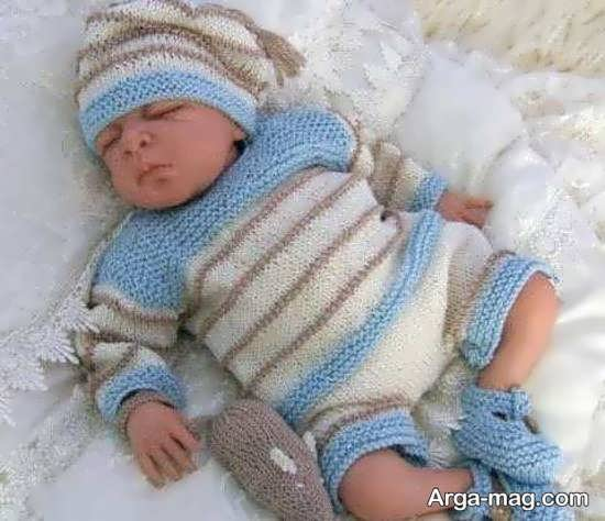 مدل لباس نوزادی برای پسر