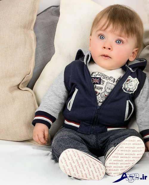مدل لباس نوزادی پسرانه با طرح های شیک