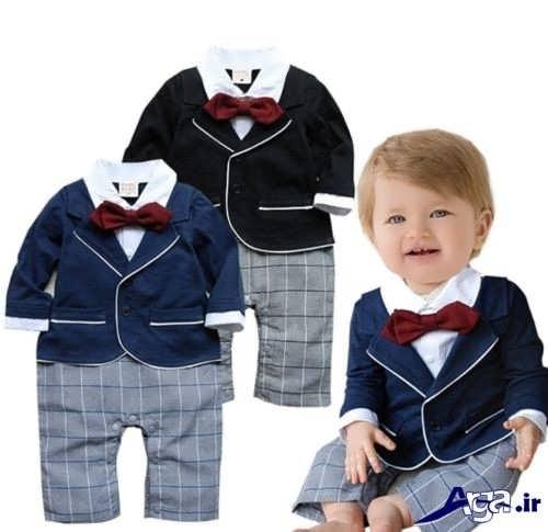 مدل لباس نوزادی پسرانه با طرح های دوست داشتنی