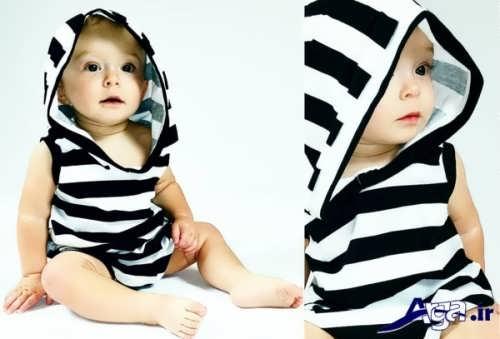 لبسا نوزادی با طرح های متنوع