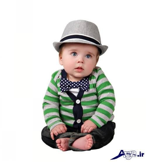 مدل لباس نوزادی پسرانه با طرح های شیک و فانتزی