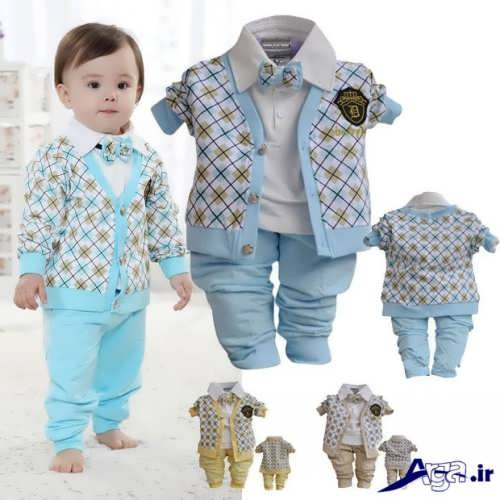 لباس نوزادی با طرح های شیک