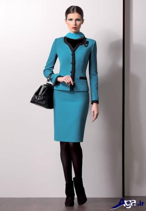 مدل کت و دامن با طرح رسمی