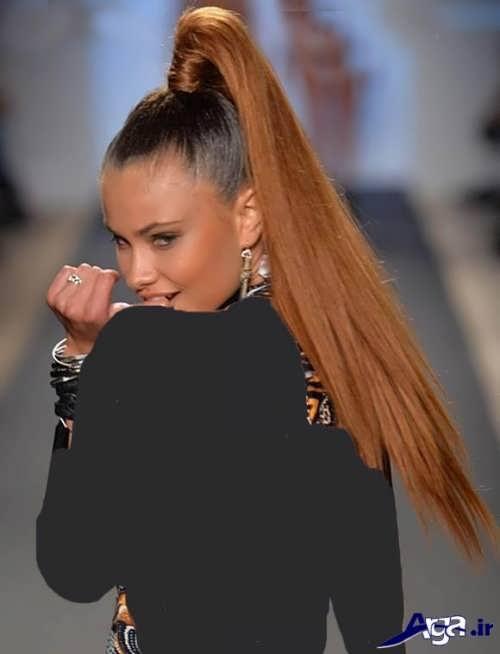 موی دم اسبی زنانه و دخترانه