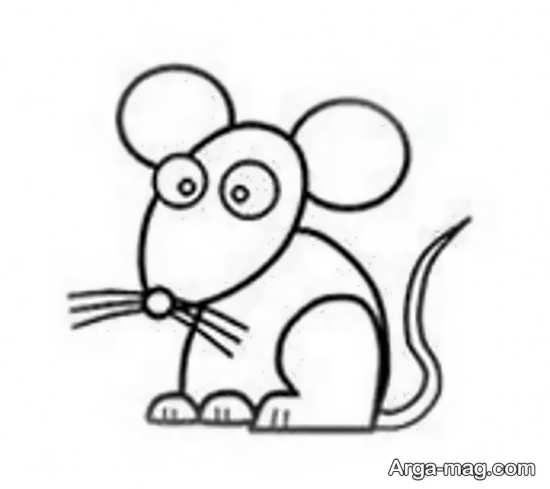 رنگ آمیزی موش با زه