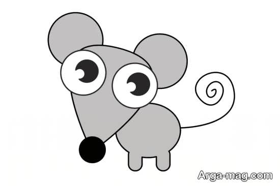 تصاویر رنگ آمیزی موش