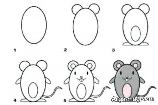 رنگ آمیزی موش انیمیشنی