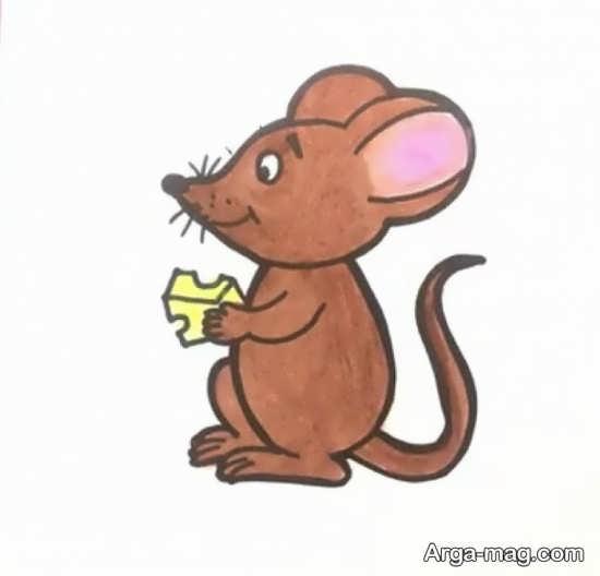 رنگ آمیزی موش فانتزی
