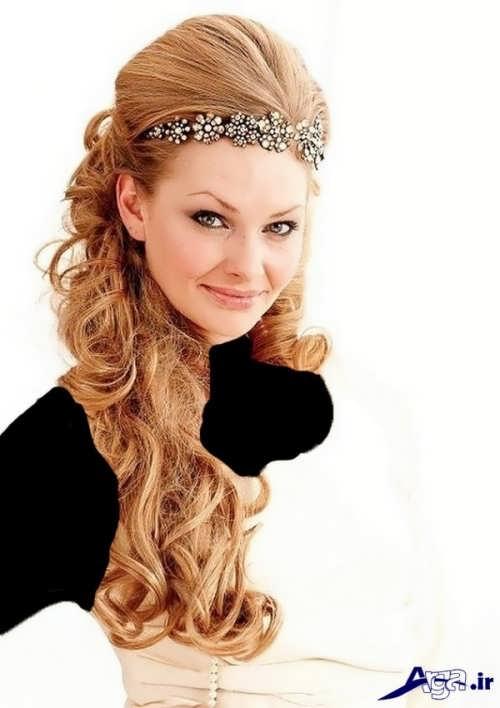 زیباترین مدل های آرایش موی عروس