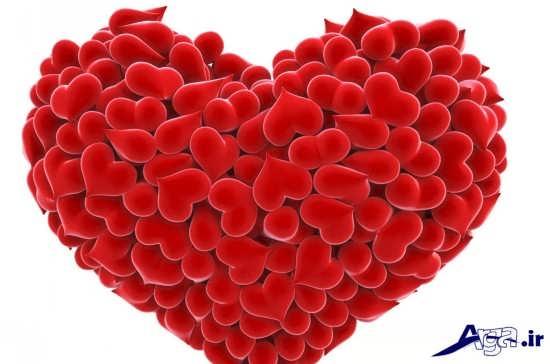 عکس قلب قرمز زیبا