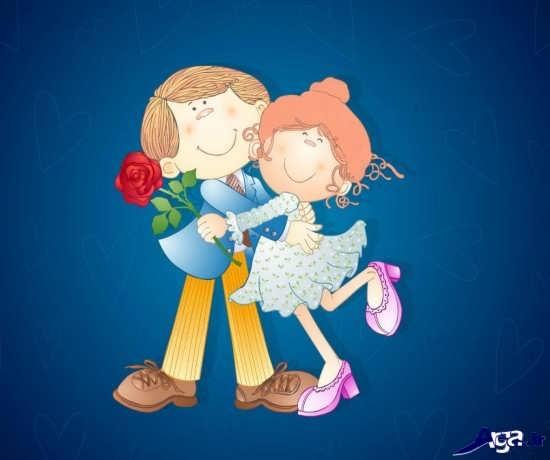 عکس های کارتونی عاشقانه