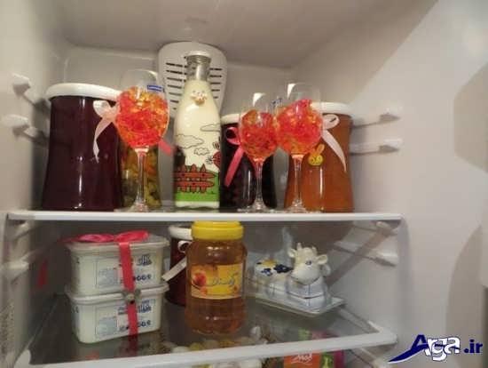 تزیین زیبای یخچال عروس
