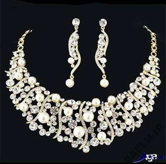 مدل سرویس جواهرات عروس