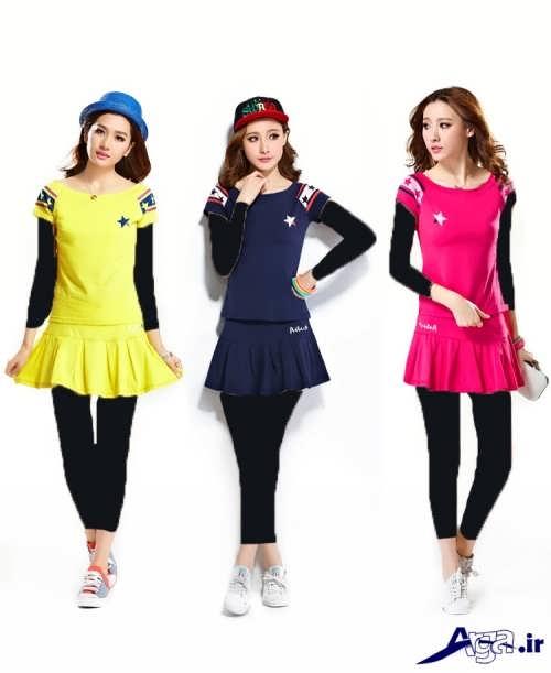 لباس اسپرت کره ای