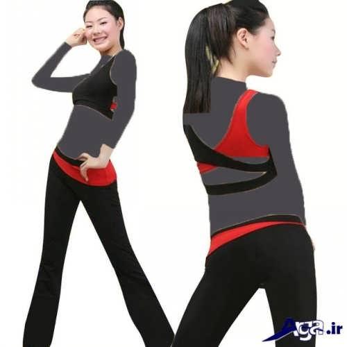 لباس اسپرت با طراحی متفاوت