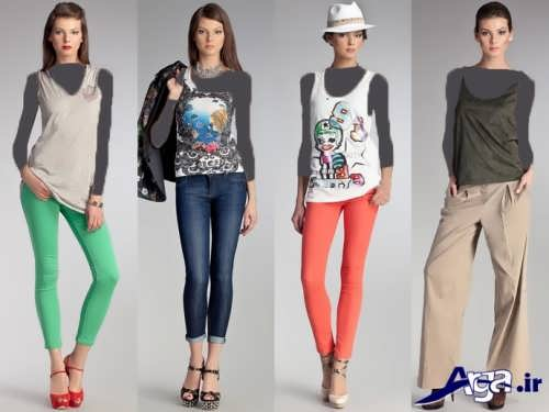 مدل های لباس اسپرت دخترانه
