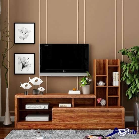 طرح میز تلویزیون ام دی اف