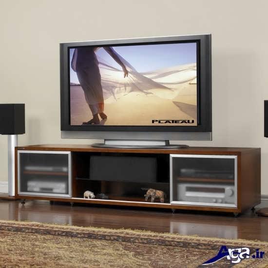 مدل میز تلویزیون با طرح مدرن
